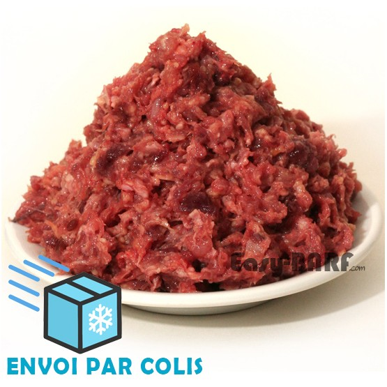 Raw feeding Pintade