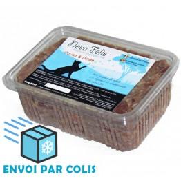 Nova Felis Poulet & Dinde, recette 2