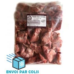 Cubes de viande rouge de dinde 2kg